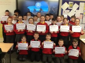 P6JF Swimming Certificates