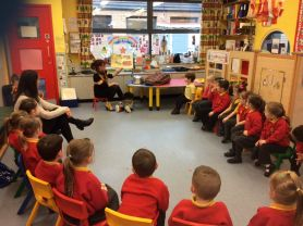 Rhythm and Rhyme visit Nursery!
