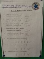 P6 Equivalent fractions