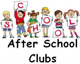 After School Clubs Jan 2020