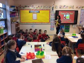 P2AM celebrate the Chinese New Year with St. Brigid's