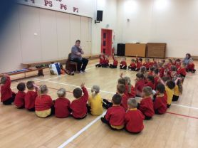 Story telling, singing and music with Steve!